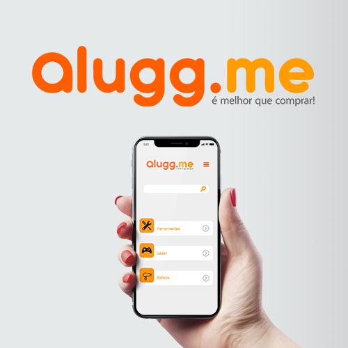 logomarca alugg.me - cembra publicidade e marketing digital
