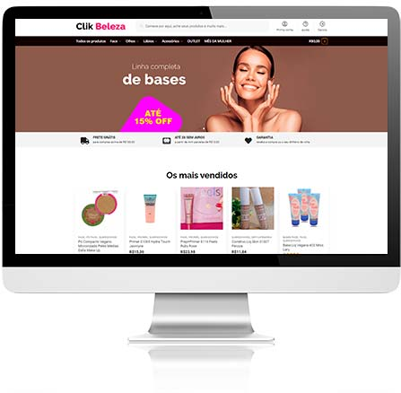 Criar sites e lojas virtuais